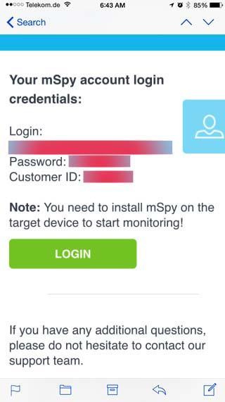 whatsapp hacken mitlesen email