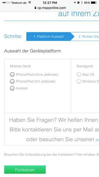 whatsapp hacken plattform auswahl