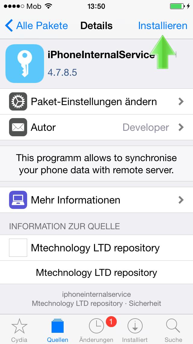 WhatsApp Mitlesen App