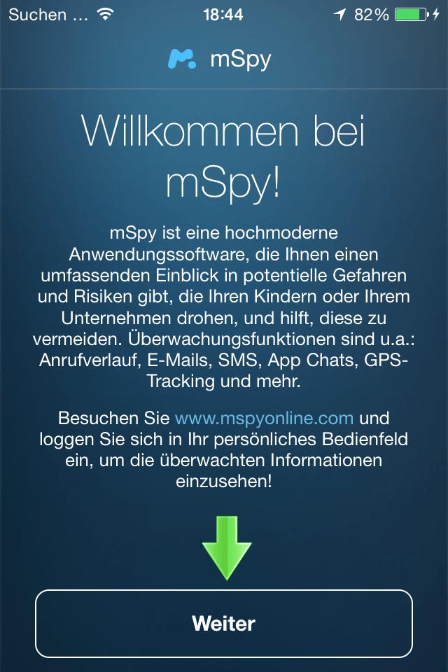 WhatsApp Mitlesen Software