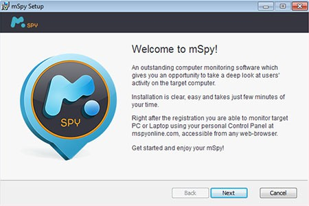 PC installation mspy computer 6