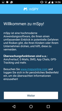 android installation mspy