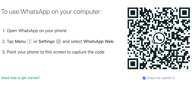 whatsapp web hacken